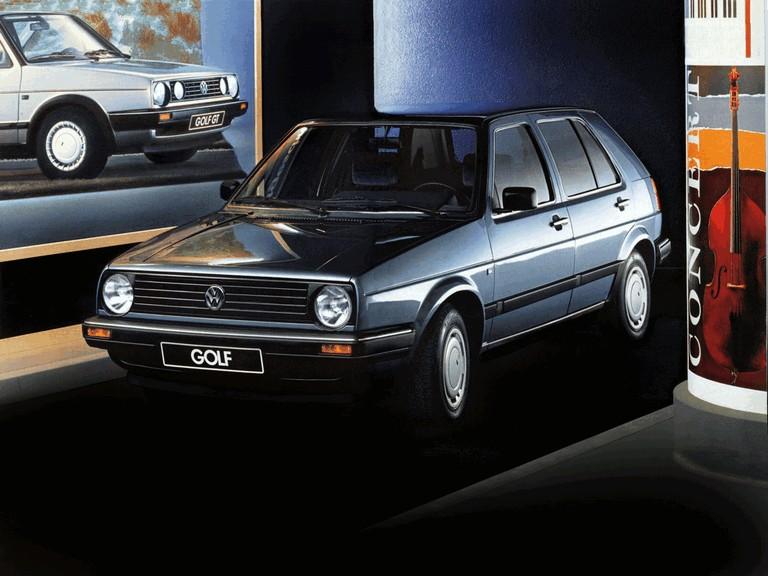 1987 Volkswagen Golf ( II ) 5-door 396738