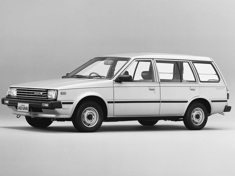 1985 Nissan Sunny ( VB11 ) Ad Van 398062