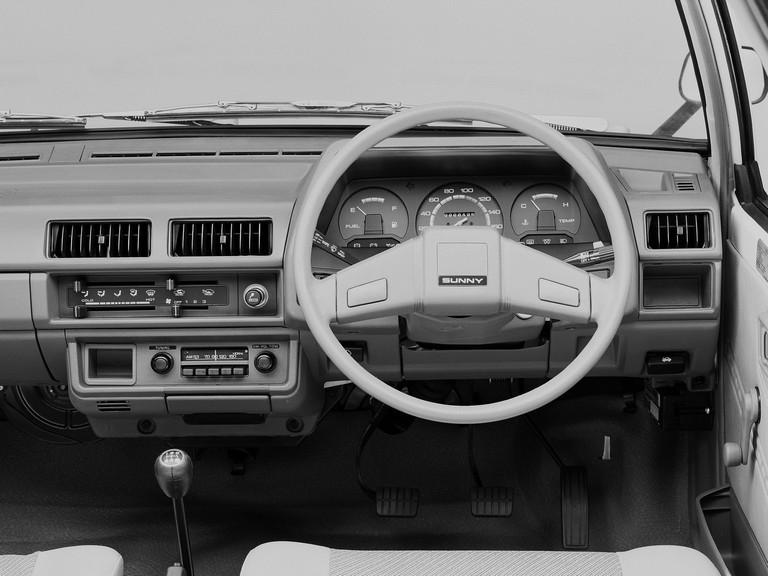 1985 Nissan Sunny ( VB11 ) Ad Van 398065