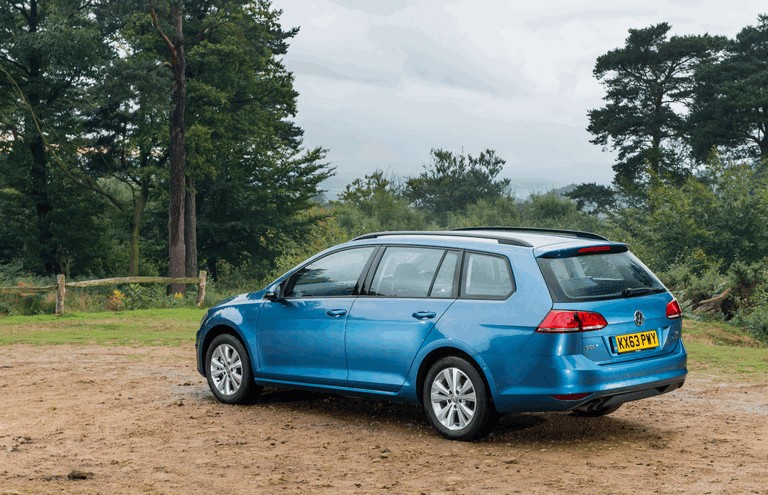 2013 Volkswagen Golf ( VII ) Estate - UK version 399291