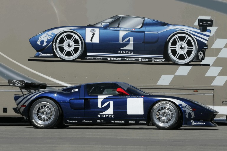 2007 Ford GT by Matech Racing 494867