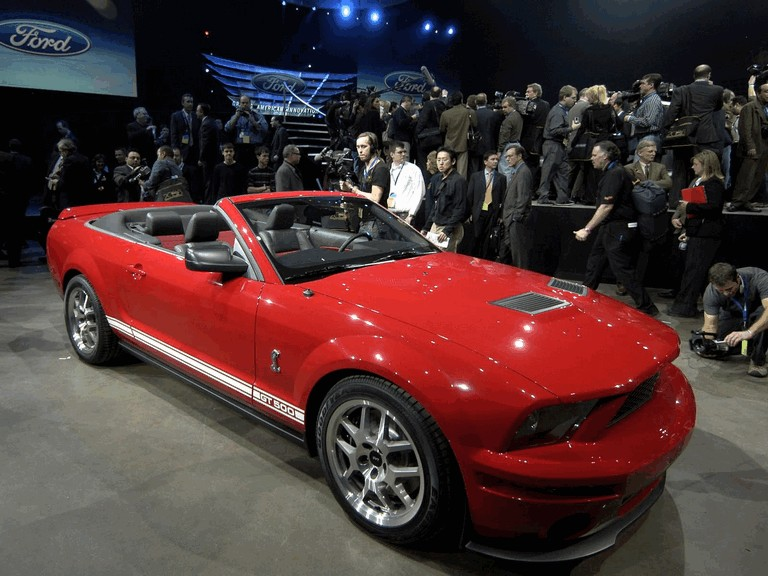2007 Ford Mustang Shelby GT500 convertible 220316