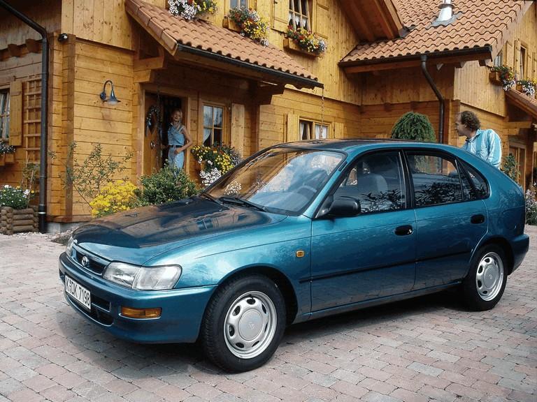 1991 Toyota Corolla ( E100 ) Compact 5-door - Free high