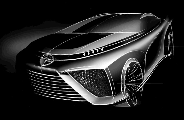 2014 Toyota Fuel Cell Vehicle concept 406003