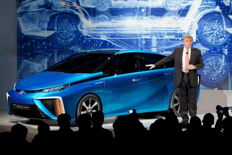 2014 Toyota Fuel Cell Vehicle concept 406006
