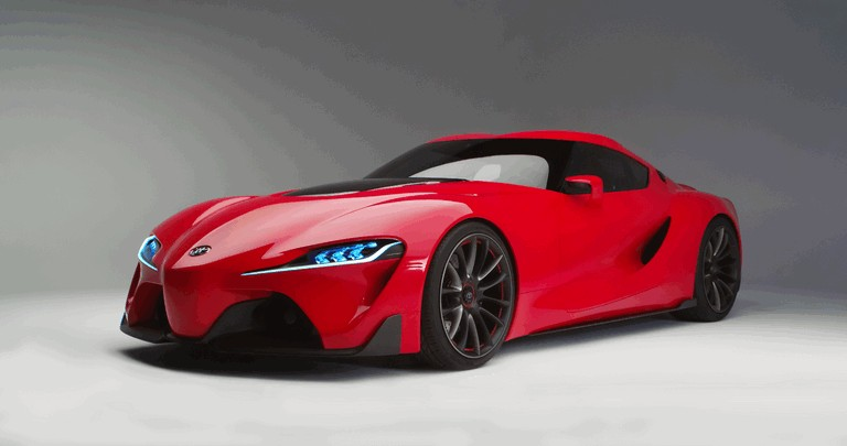 2014 Toyota FT-1 concept 406322
