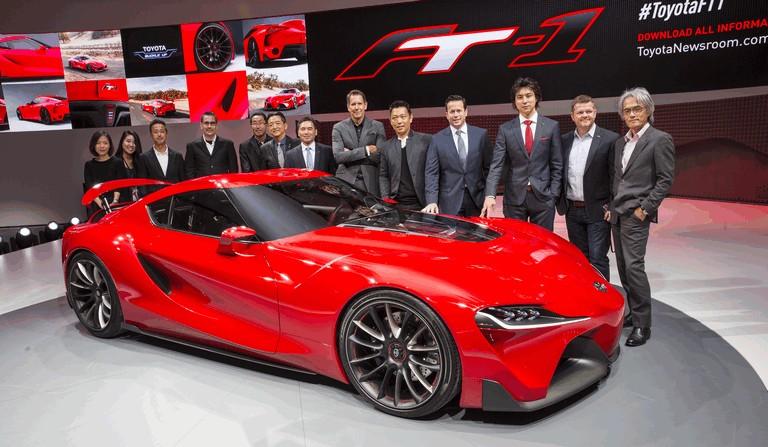 2014 Toyota FT-1 concept 406334
