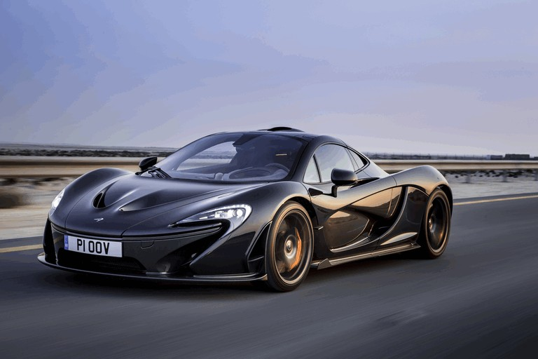 2014 McLaren P1 - Bahrain test 472124