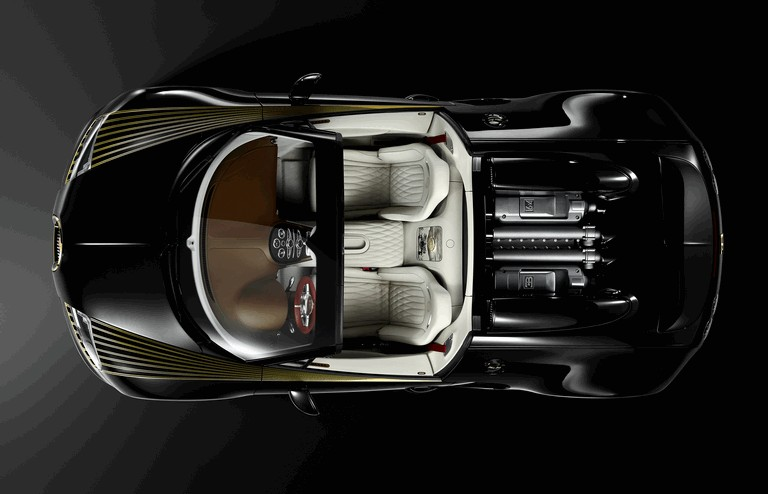 2014 Bugatti Veyron 16.4 Black Bess 410388