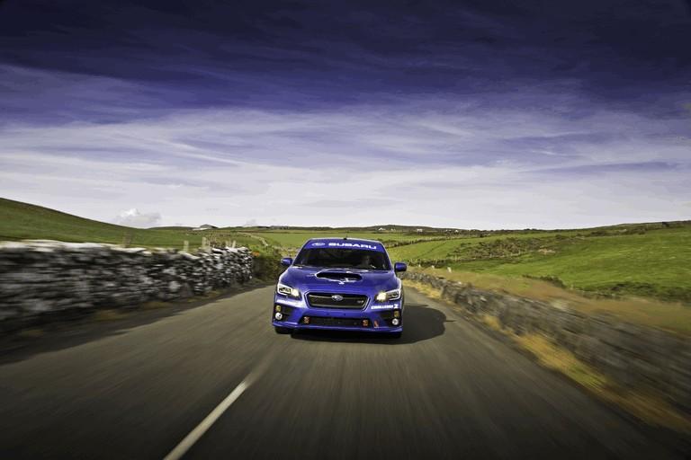 2014 Subaru WRX STI at Isle fo Man TT 413539