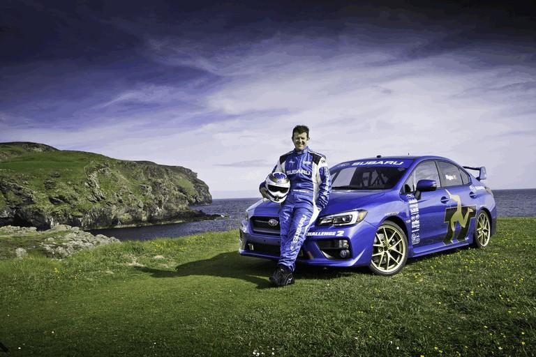 2014 Subaru WRX STI at Isle fo Man TT 413540
