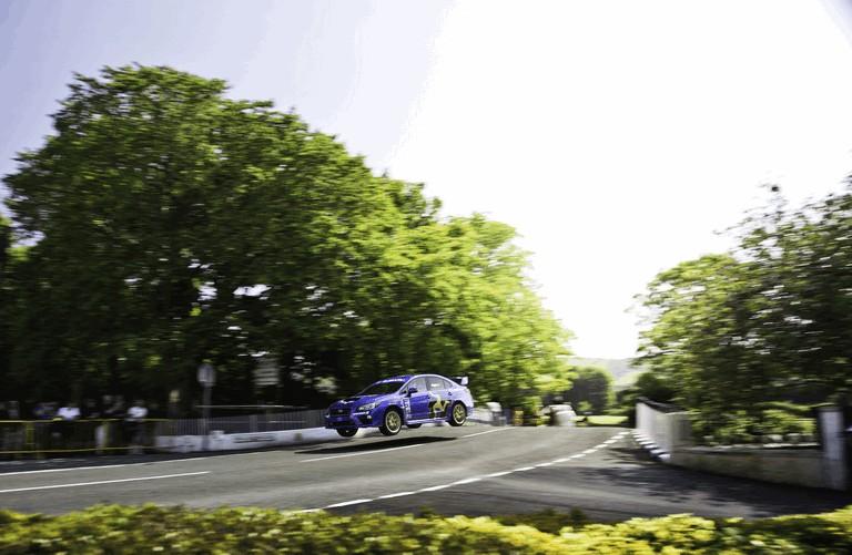 2014 Subaru WRX STI at Isle fo Man TT 413541