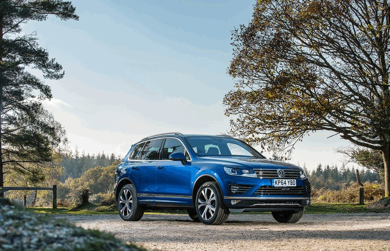 2014 Volkswagen Touareg R-Line - UK version - Free high