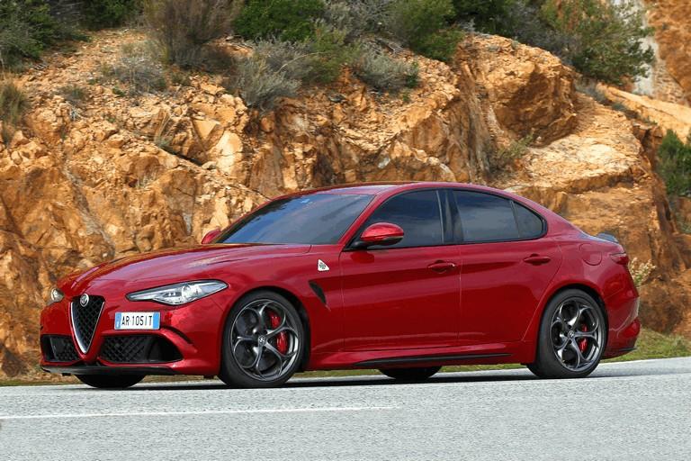 2015 Alfa Romeo Giulia Quadrifoglio 445578