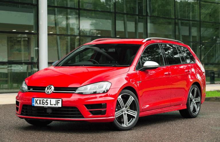 2015 Volkswagen Golf ( VII ) R Estate - UK version 437581