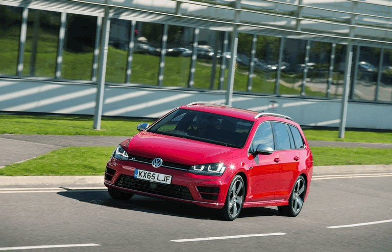 2015 Volkswagen Golf ( VII ) R Estate - UK version 437593