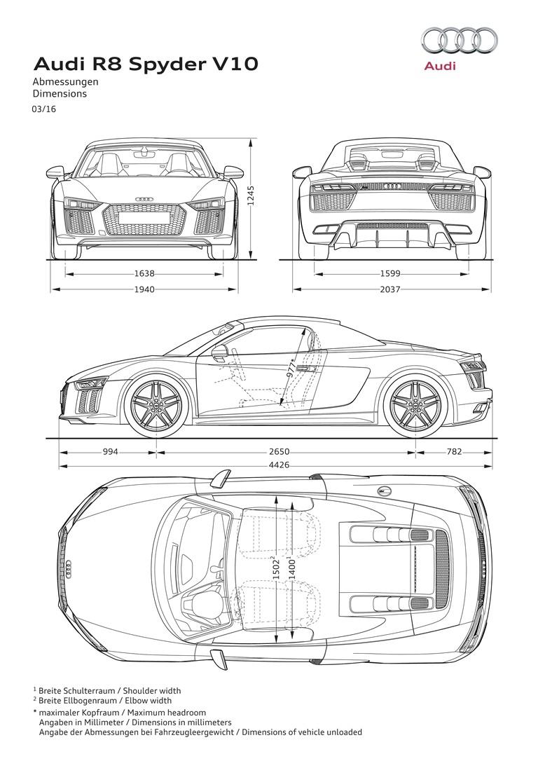 2016 Audi R8 V10 spyder 445748