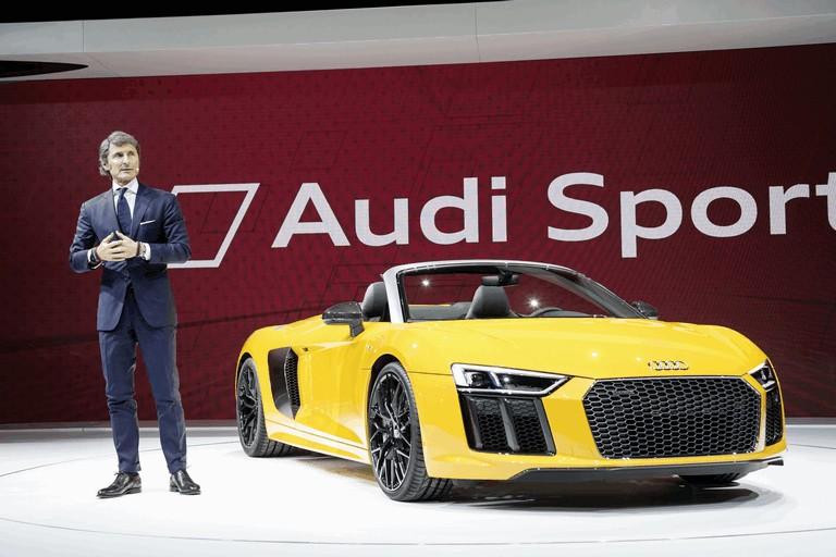 2016 Audi R8 V10 spyder 445749