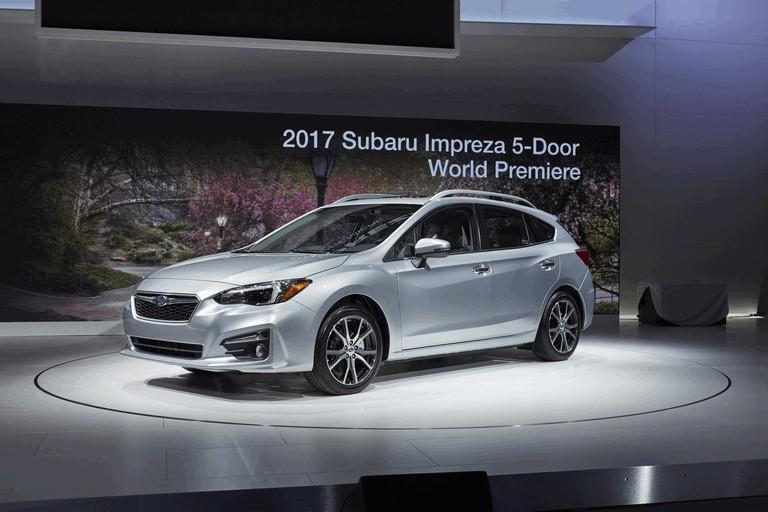 2017 Subaru Impreza 5-door - USA version 450260