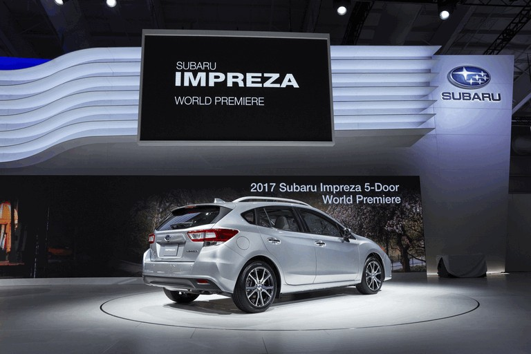 2017 Subaru Impreza 5-door - USA version 450262