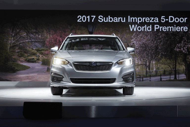 2017 Subaru Impreza 5-door - USA version 450263