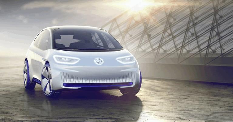 2016 Volkswagen I.D. electric concept car 453004