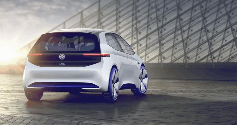 2016 Volkswagen I.D. electric concept car 453006