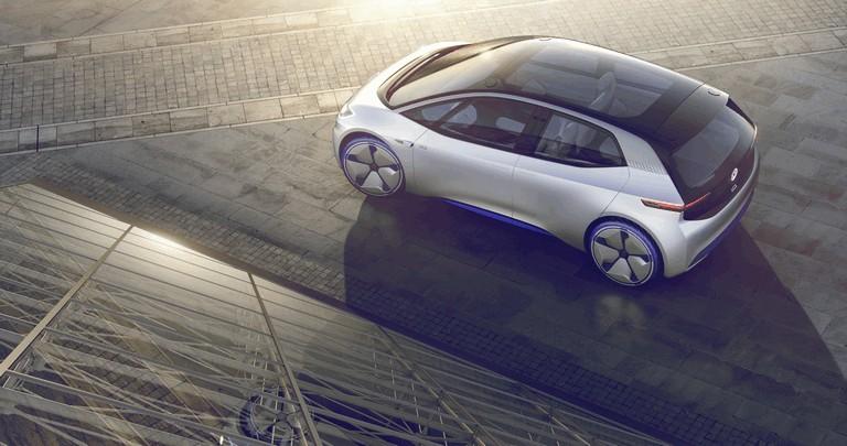 2016 Volkswagen I.D. electric concept car 453007