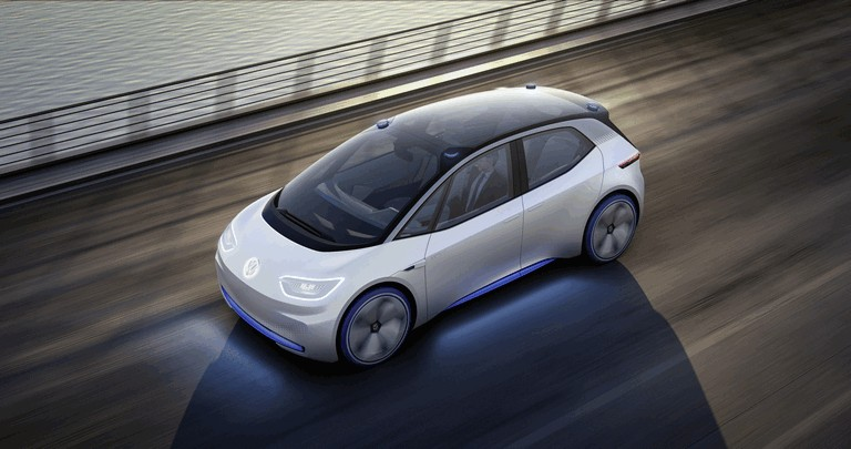 2016 Volkswagen I.D. electric concept car 453008