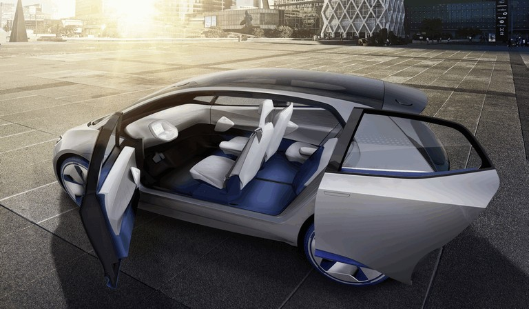 2016 Volkswagen I.D. electric concept car 453009
