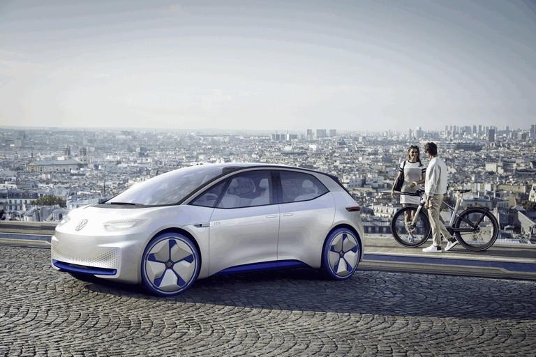 2016 Volkswagen I.D. electric concept car 453010