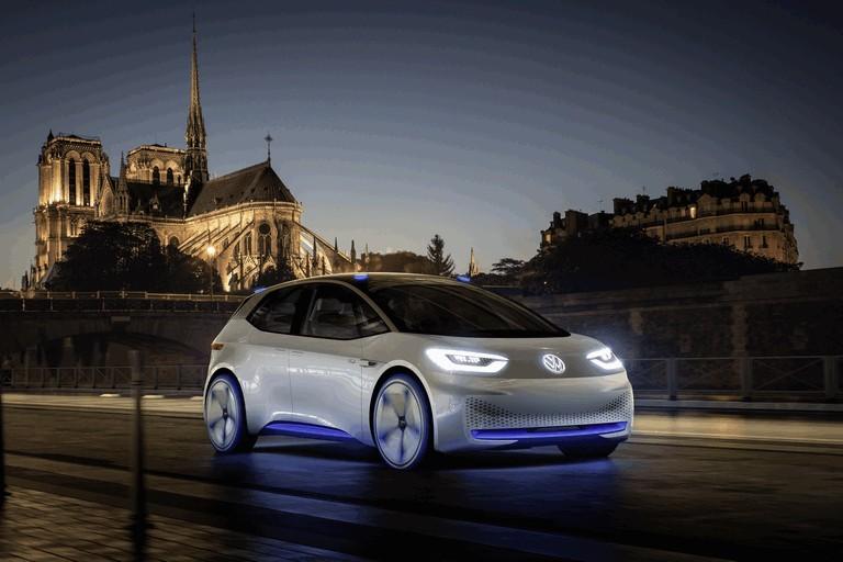 2016 Volkswagen I.D. electric concept car 453014