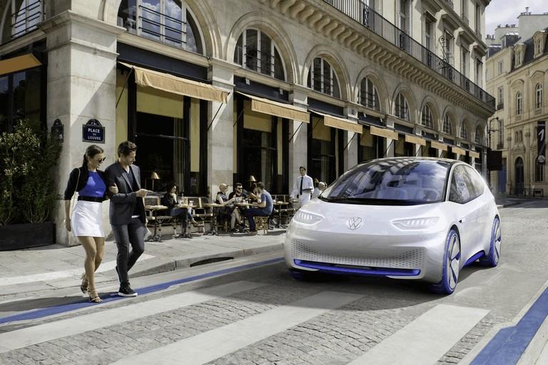 2016 Volkswagen I.D. electric concept car 453016