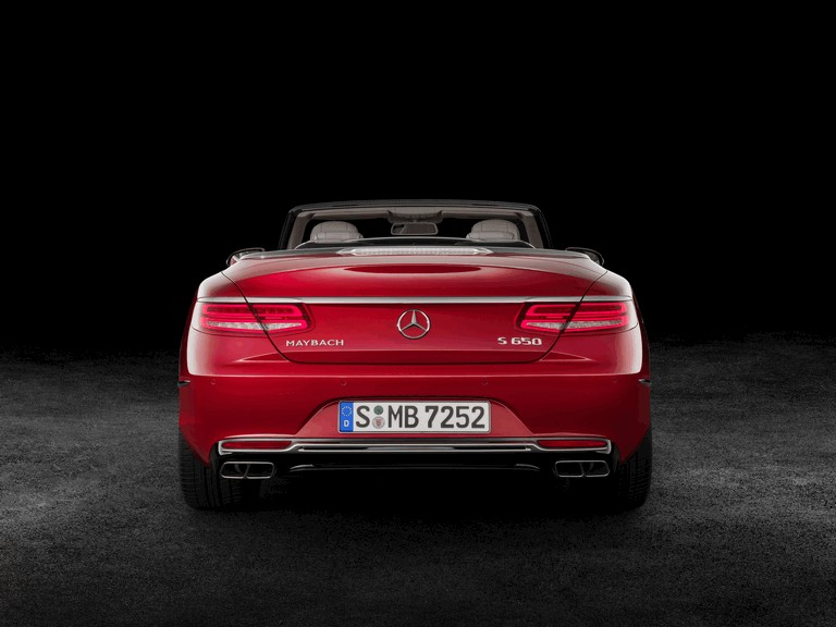 2017 Mercedes-Maybach S 650 cabriolet 454574