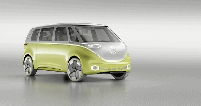 2017 Volkswagen I.D. BUZZ concept 456984