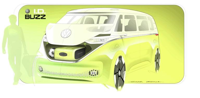 2017 Volkswagen I.D. BUZZ concept 456996