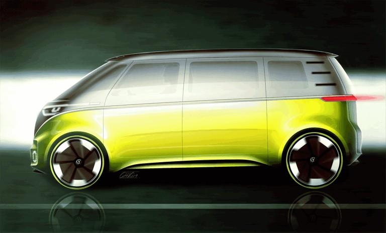 2017 Volkswagen I.D. BUZZ concept 457000