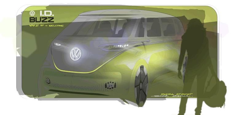 2017 Volkswagen I.D. BUZZ concept 457004
