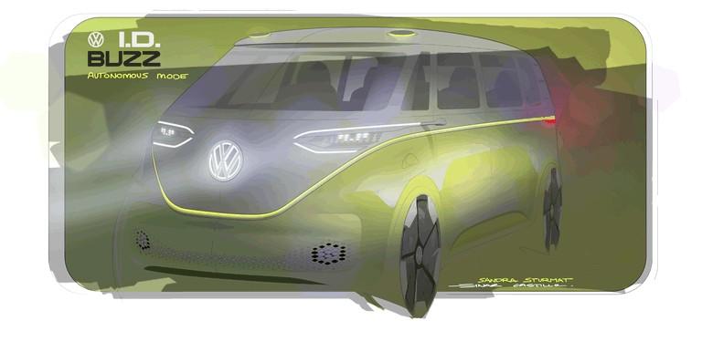 2017 Volkswagen I.D. BUZZ concept 457005