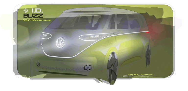 2017 Volkswagen I.D. BUZZ concept 457007