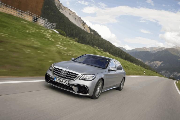 2017 Mercedes-AMG S 63 4Matic+ 465249