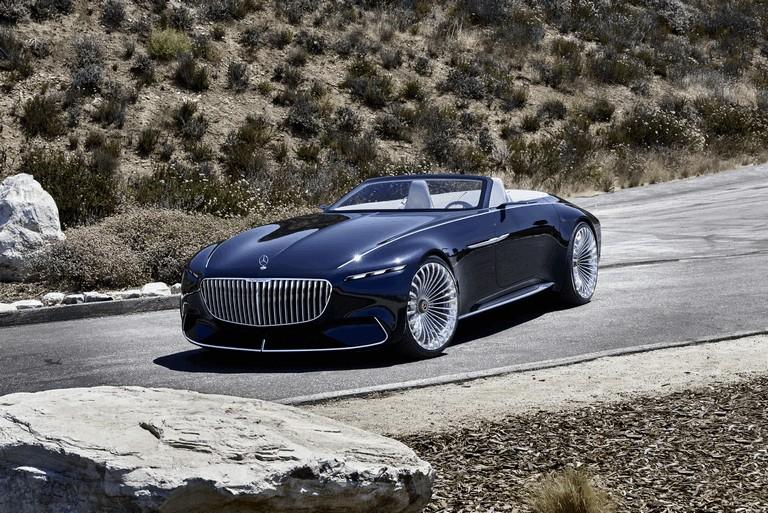 2017 Mercedes-Maybach Vision 6 cabriolet concept 465509