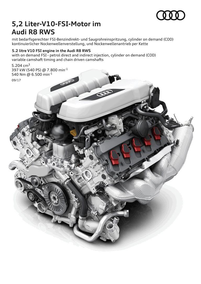 2017 Audi R8 RWS 466463