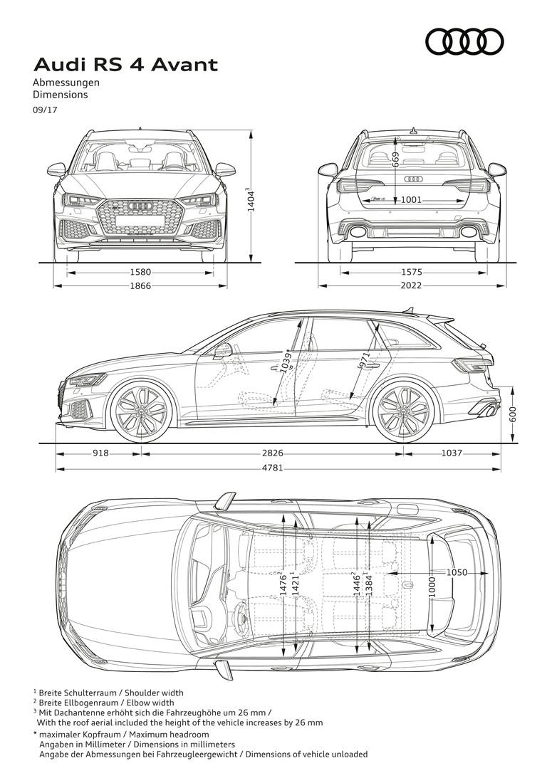 2017 Audi RS 4 Avant 466513