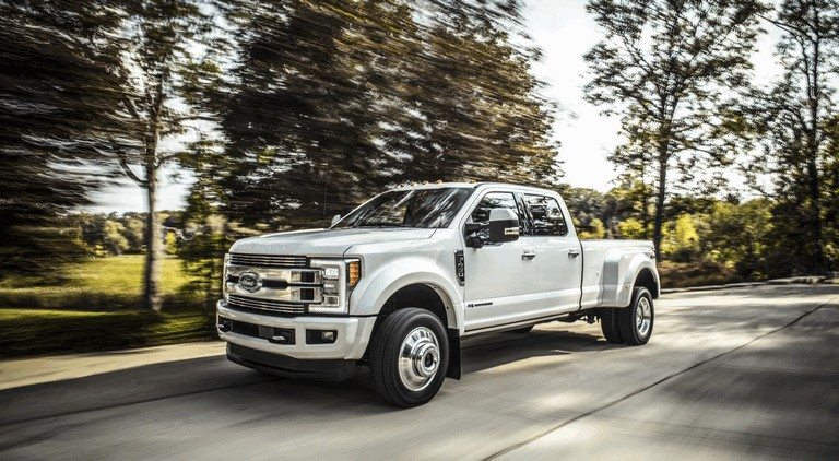 2018 Ford F-350 Super Duty Limited 468676