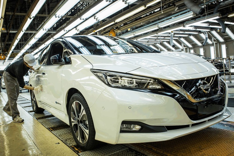 2018 Nissan Leaf - USA version 469800