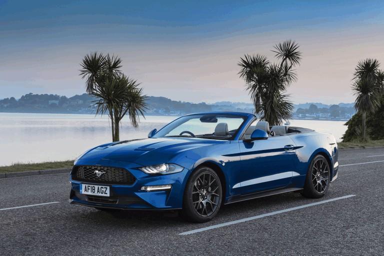 2018 Ford Mustang convertible - UK version 480090