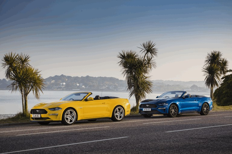 2018 Ford Mustang convertible - UK version 480093