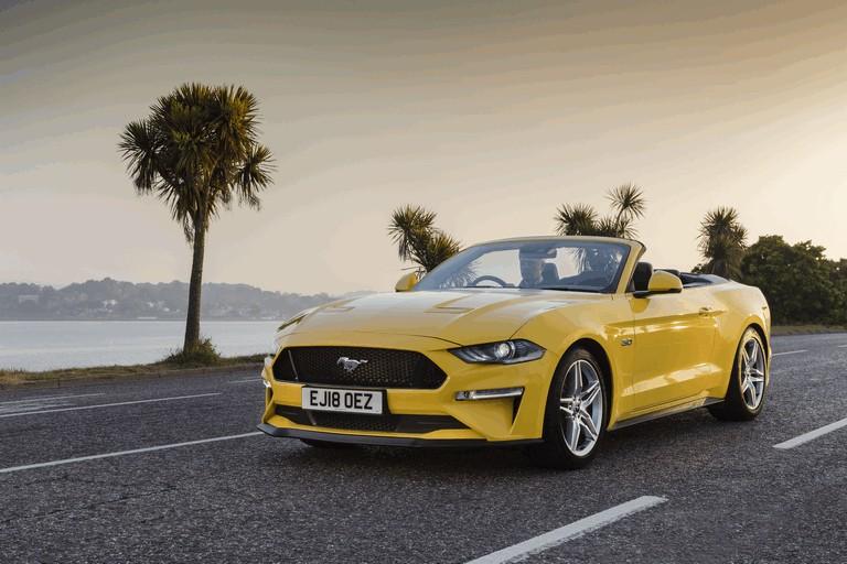 2018 Ford Mustang convertible - UK version 480095