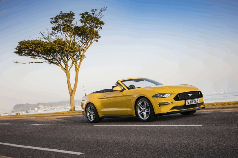 2018 Ford Mustang convertible - UK version 480096